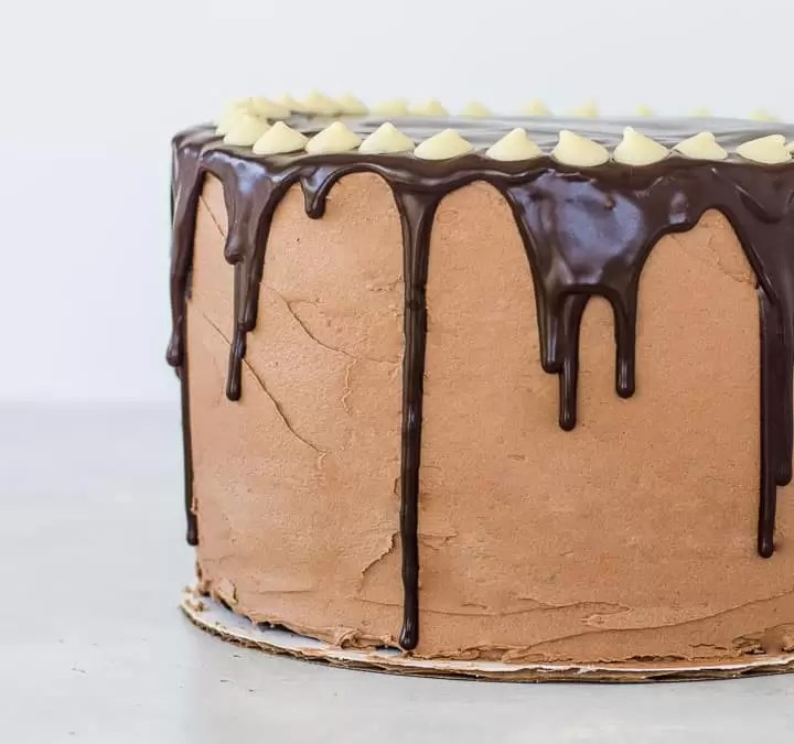 Quick Chocolate Mousse Cake Filling