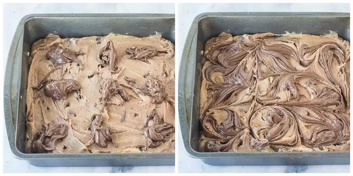 how to finish nutella bars step by step