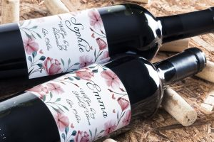 Personalised wine label for Weddings - Bridesmaids / Maid of Honour
