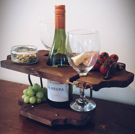 Personalised Wine Holder