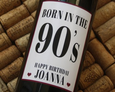 Happy Birthday - Personalised Wine