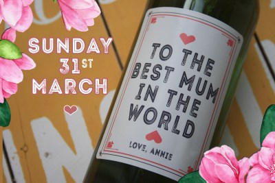 Personalised Wine - Mothers Day