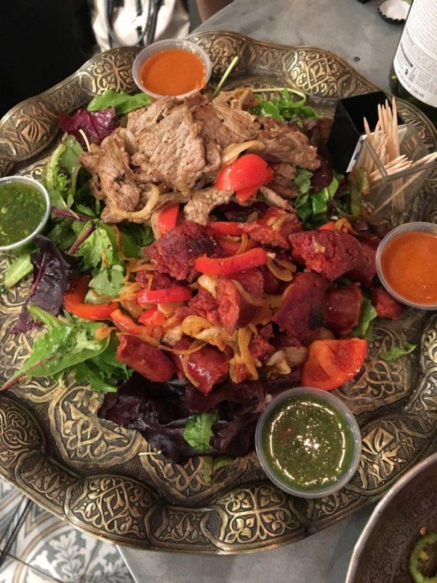 Barraka tasting plate