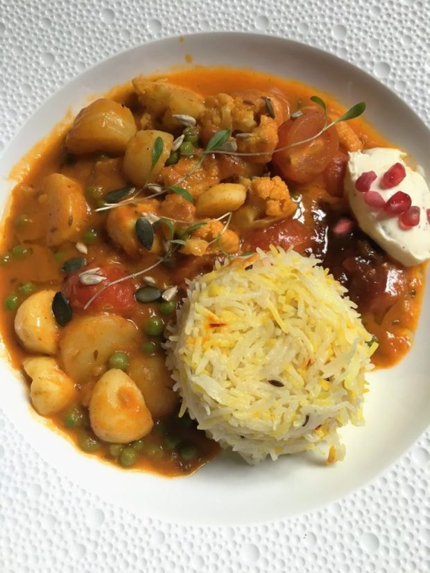 Scarfe's Bar - Beans with light rice