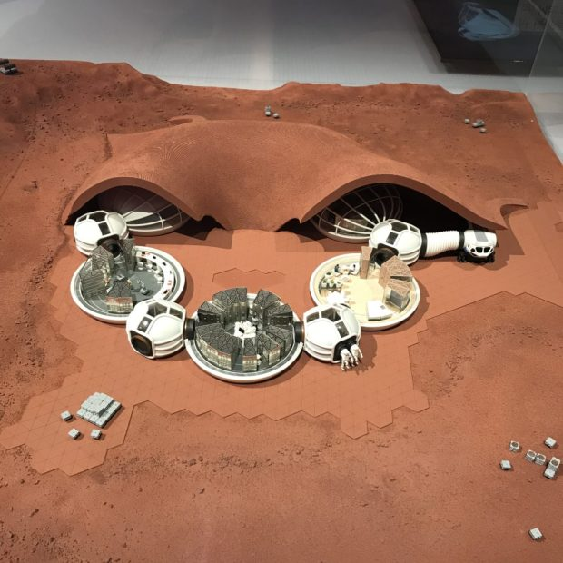 At home on Mars, Design Museum
