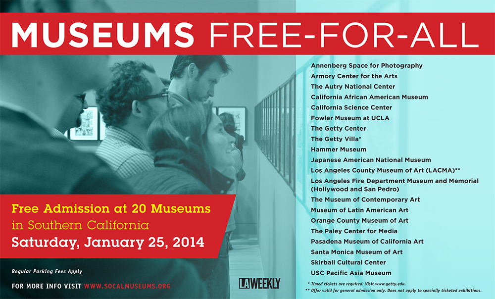 Museums Free-For-All