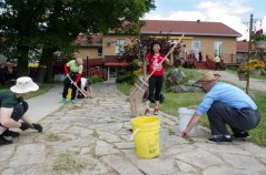 Each pratitce group this year is assigned a set of daily chores