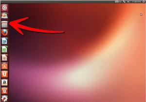 ubuntu OS Desktop icons