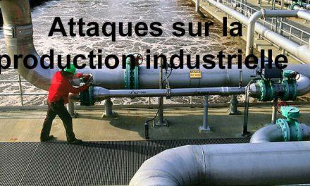 La menace industrielle se précise