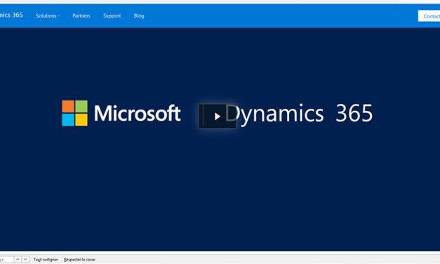 Microsoft combine ERP et CRM dans Dynamics 365