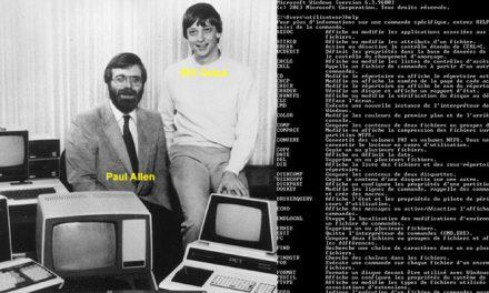Séquence nostalgie : le prompt MS-DOS, c'est (presque) fini