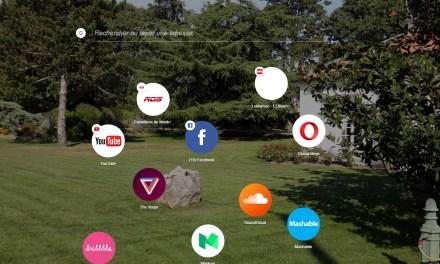 De bonnes idées dans le browser Opera Neon
