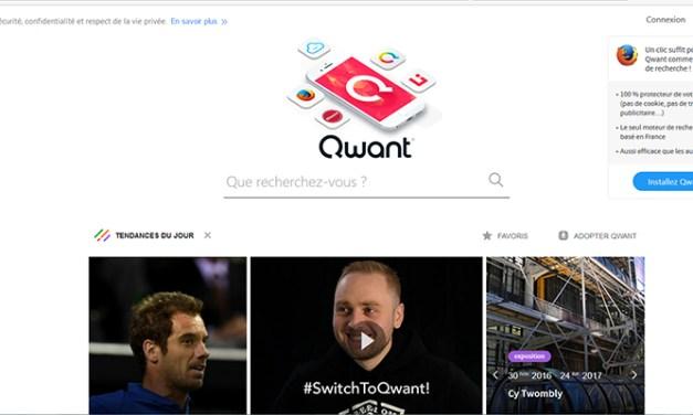 Qwant, un petit français qui s'attaque à Google
