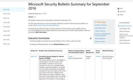 Importante mise à jour de sécurité pour Microsoft