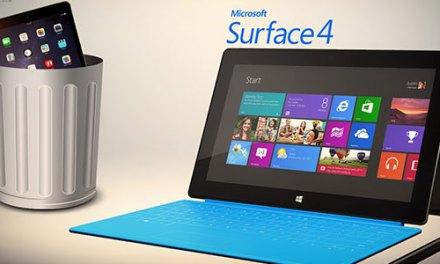 La Surface Pro 4, pour contrer l'iPad Pro