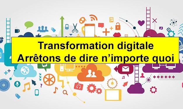 Le mirage de la transformation digitale