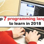 Les langages que vous devez connaître… ou apprendre en 2018