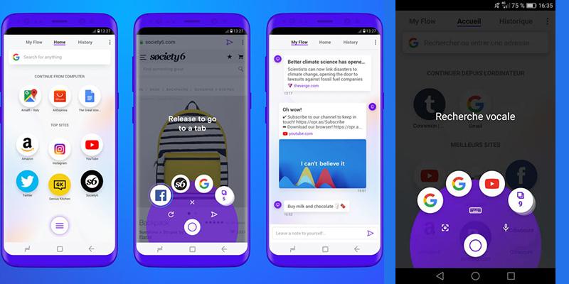 Enfin un browser intelligent pour smartphone