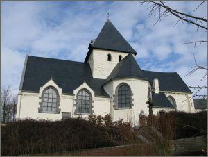 L'église romane de Haut Ittre