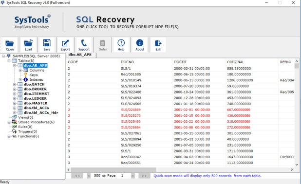 Preview SQL Database Objects