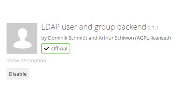 owncloud LDAP