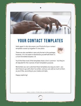 GTF Contact Templates