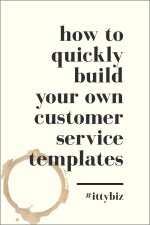How To Quickly Build Your Own Customer Service Email Templates