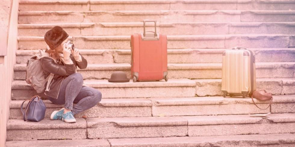 Digital Nomad Suitcases