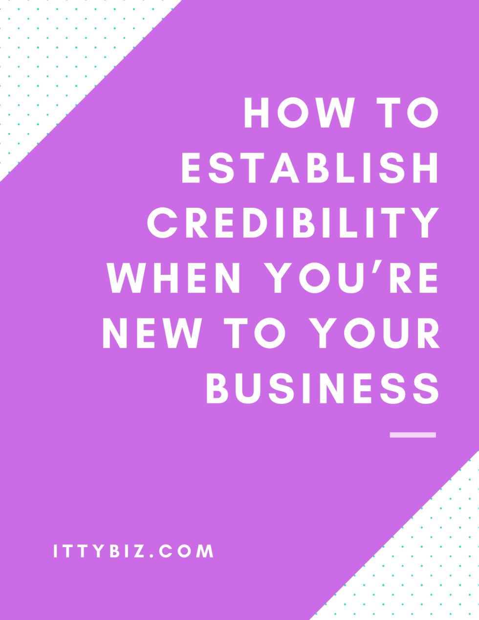 establishing-credibility