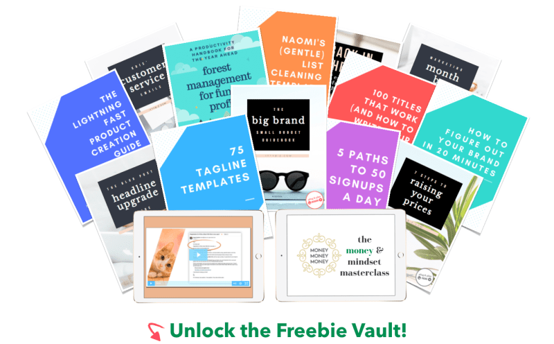 Unlock the Freebie Vault!