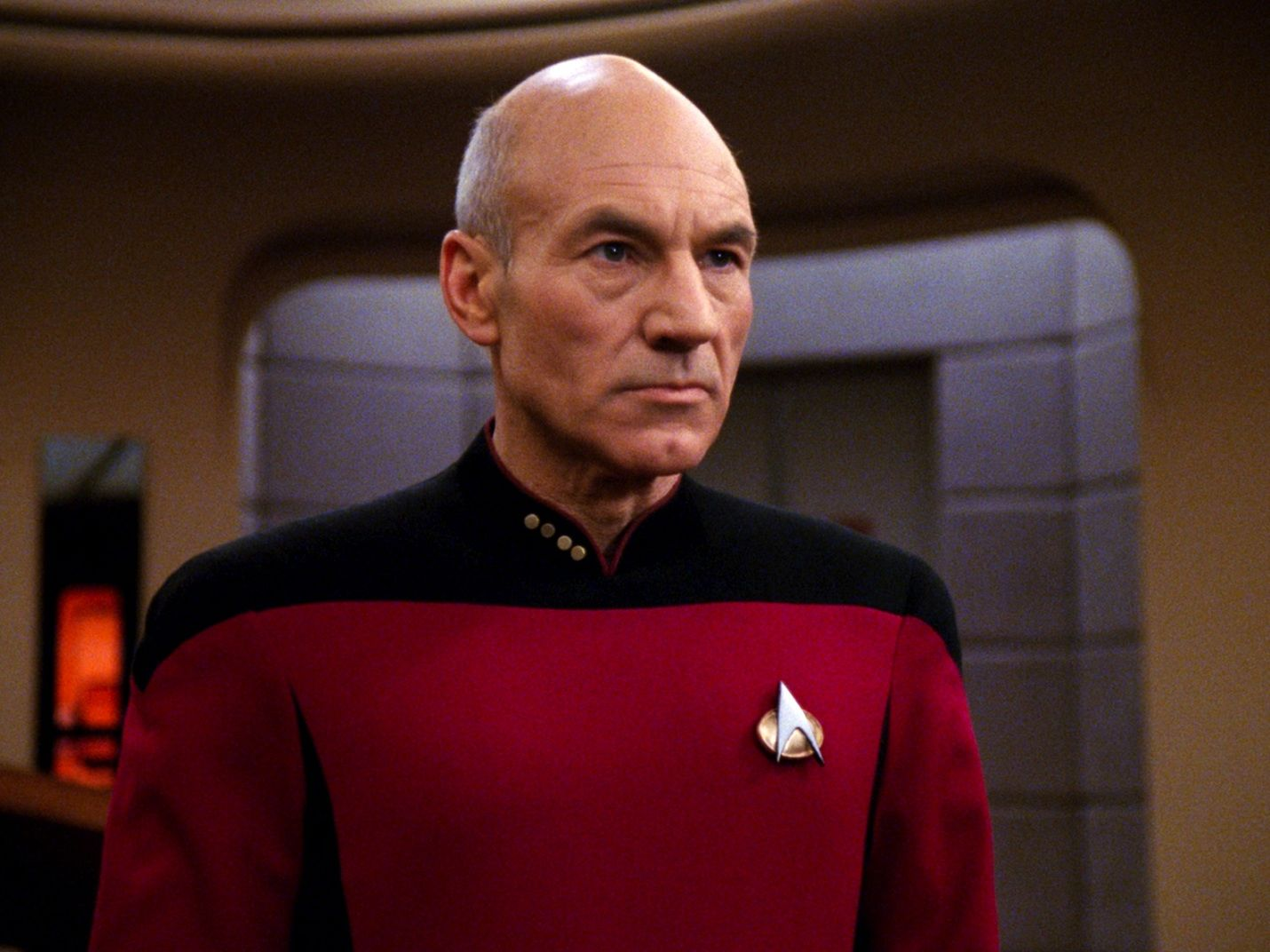 jean luc picard looking awesome