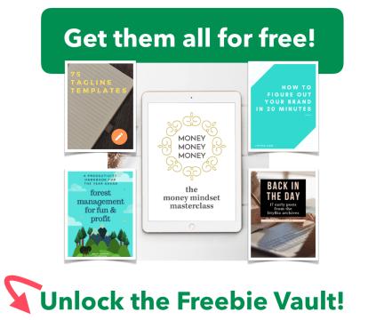 Unlock The Freebie Vault