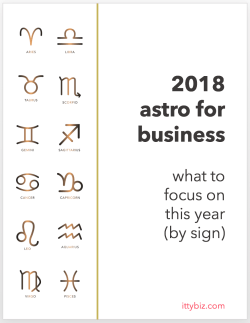 What To Focus On In 2018 (By Sign)