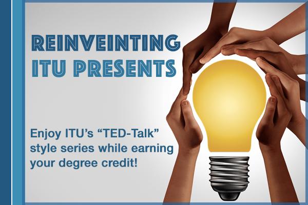 "Reinventing ""ITU Presents"""