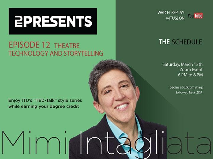 ITU Presents Episode 12 with Mimi Intagliata