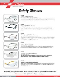 Safety Glasses and Ear Protection