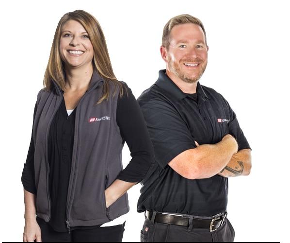 ITU AbsorbTech Account Executives Trina and Jason