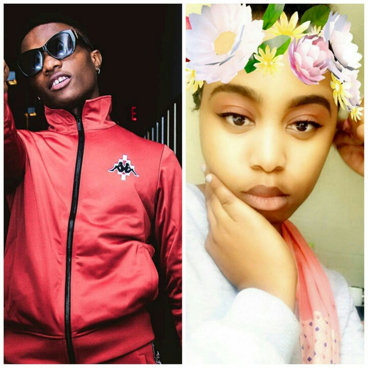 """I Will Break Your Heart"" – Wizkid Warns This Pretty Girl Who Is Crushing On Him"