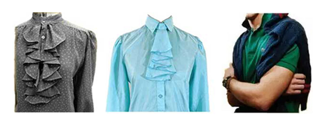 Ruffle Shirts and Preppie