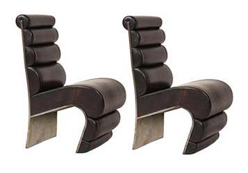 Sculptural Shape Chairs