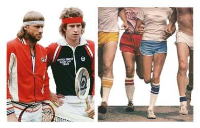 Sports Headbands and High Socks