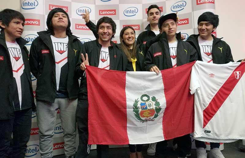 Perú con Infamous Gaming rumbo a 3 torneos internacionales