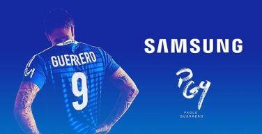 Samsung-Perú-firma-acuerdo-con-Paolo-Guerrero