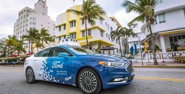 Ford-prueba-vehículos-autónomos-en-Miami