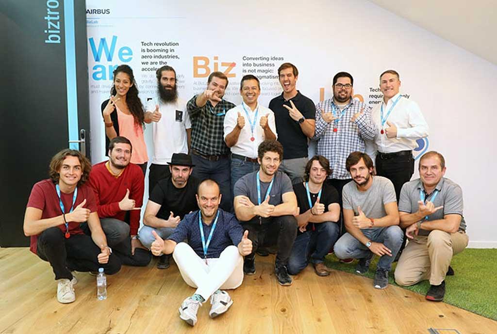24 startups acceden al programa acelerador de Airbus