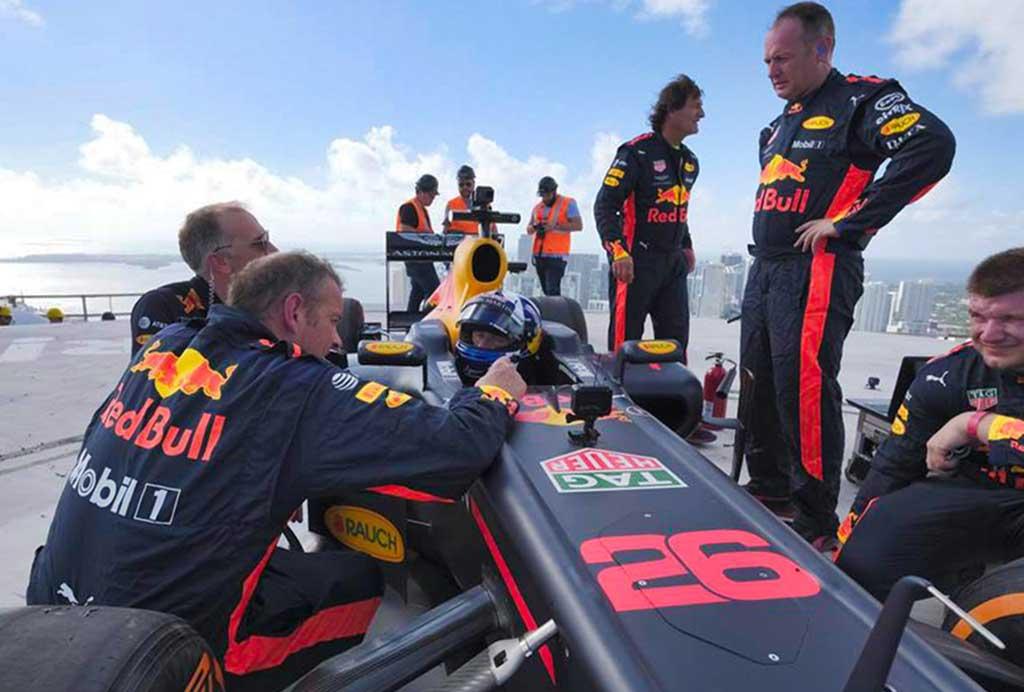 Citrix y Aston Martin Red Bull Racing unidos en la carrera hacia el futuro