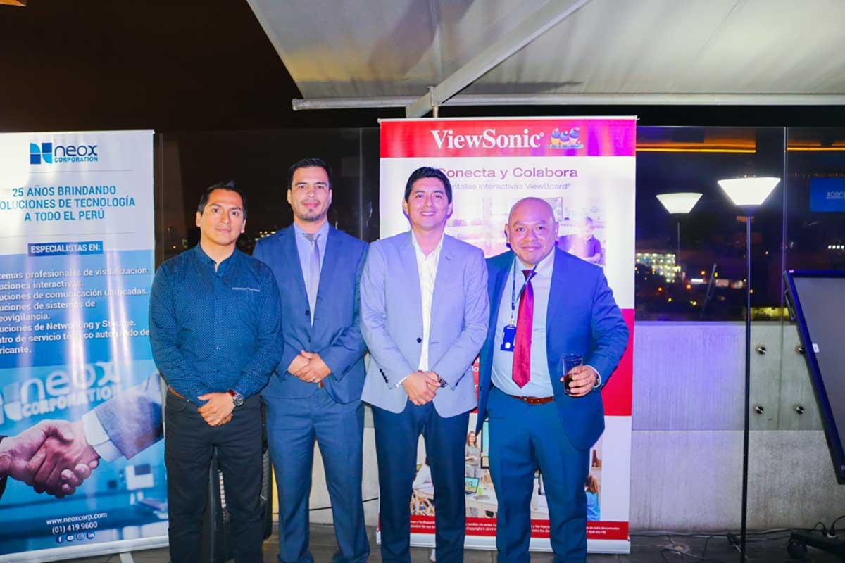ViewSonic y Neox Corporation refuerzan su alianza