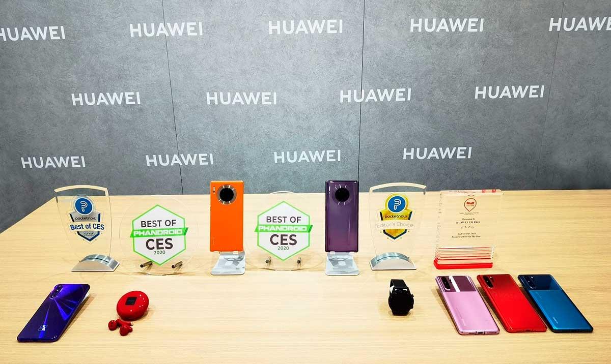 Huawei-obtuvo-los-premios-Best-of-CES-y-Editor's-Choice-en-CES-2020