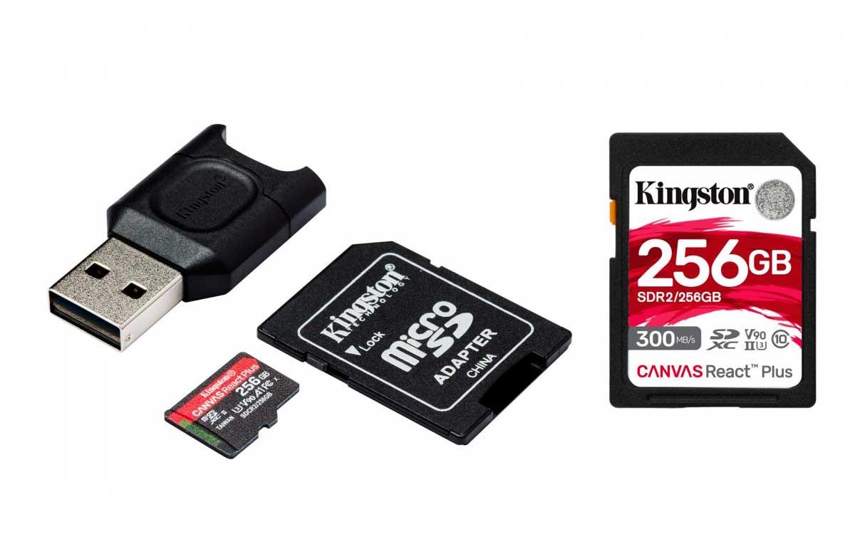 Kingston-presenta-nuevas-tarjetas-Canvas-React-Plus