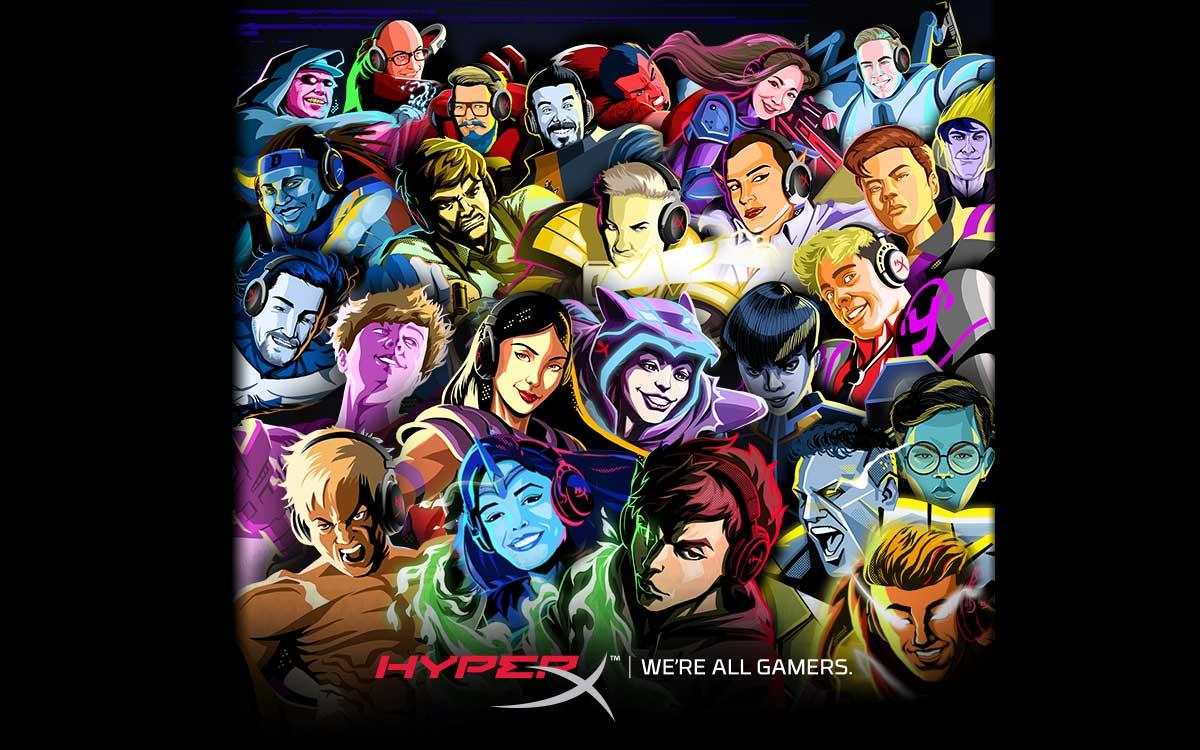 hyperx-agrega-24-influencers-mundiales-a-su-programa-de-embajadores-de-marca